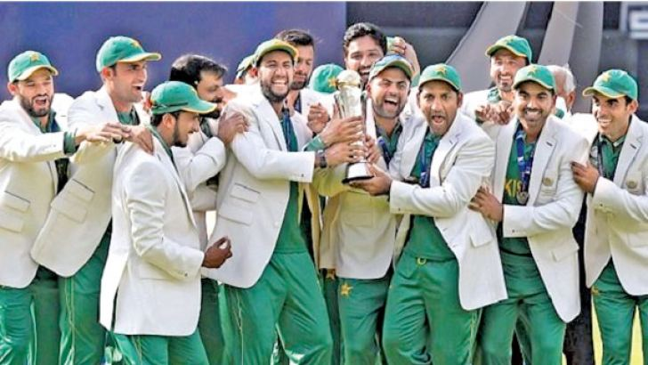Pakistan won the last Champions Trophy held in England in 2017.