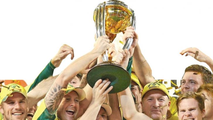 Australia, the current holders of the World Cup winning it in 2015.