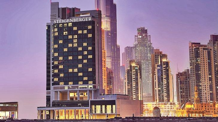 5-star hotel Steigenberger Hotel in Dubai owned and operated by Twenty14 Holdings