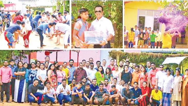SLIM staff together with the children at Sanhinda Children's Home celebrated the joy of  Sinhala and Tamil New Year cheerfully in April.
