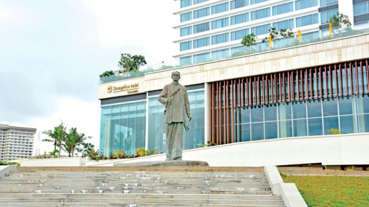 Shangri-La Hotel, Colombo. Picture by Sarath Peiris.