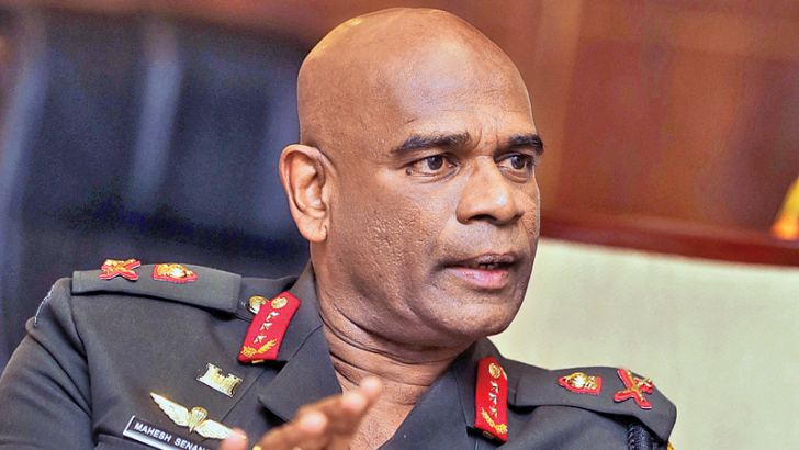 Army Commander Lieutenant General  Mahesh Senanayake