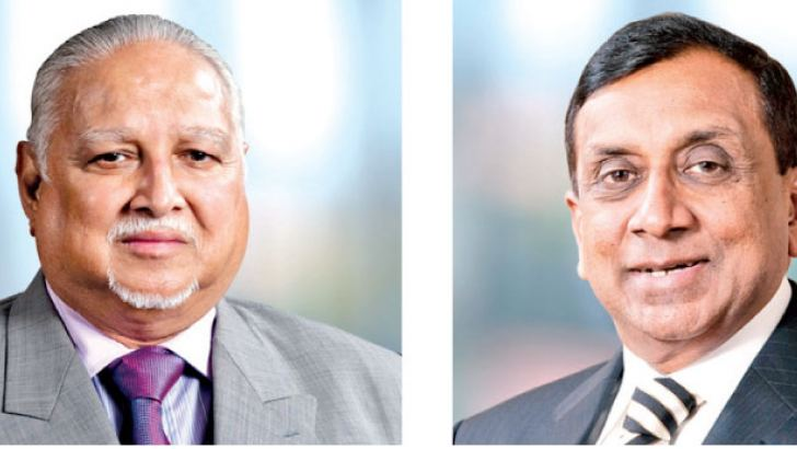 D.H.S. Jayawardena Chairman and J.M.S. Brito – Deputy Chairman and Managing Director