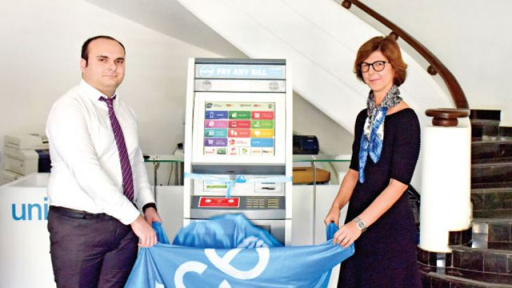 UNICEF Pay&Go service being launched.