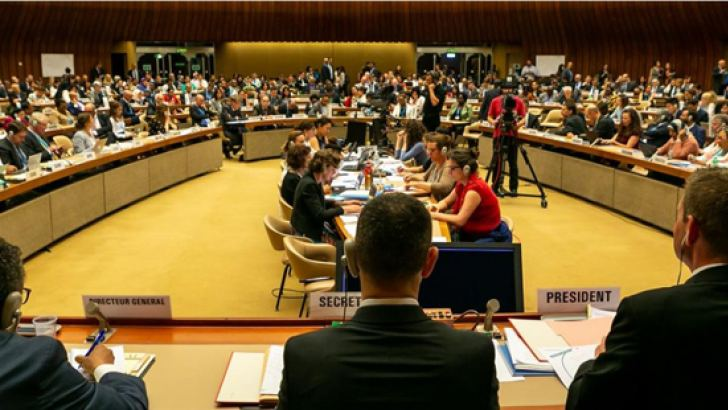 The 71st World Health Assembly commencing in Geneva.