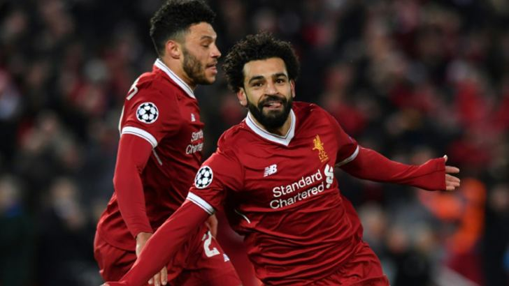 Mohamed Salah has lit up this season's Champions League on Liverpool's run to the final. AFP