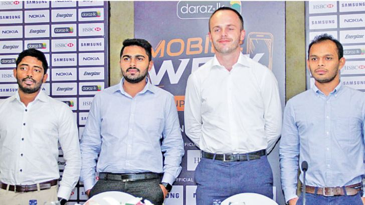 Yohan Philips Head of Commercials, Naresh Surendran Head of Marketing, Bart Van Dijk Country Manager and Darshika Attanayake Head of Operations at the launch