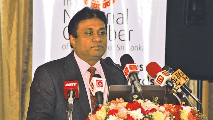 Sujeiva Samaraweera addressing the event.  Picture by Sudath Malaweera