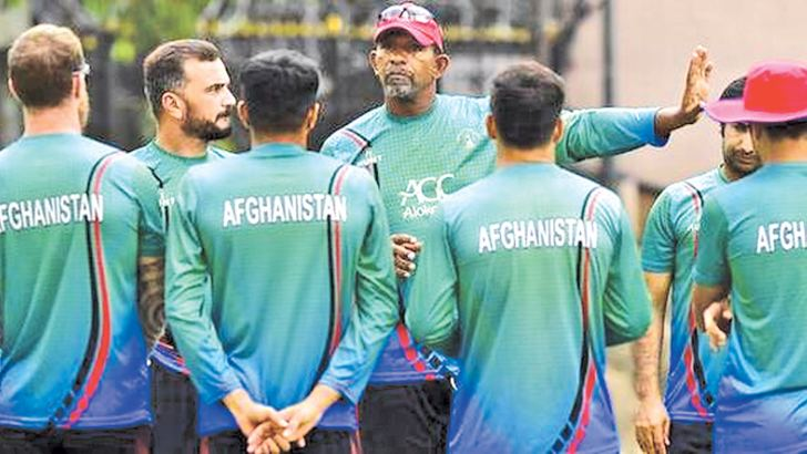 Former West Indies cricketer Phil Simmons is now coach of Afghanistan newcomers to Test cricket.