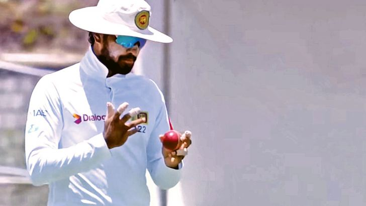 Sri Lanka Test captain Dinesh Chandimal accused of ball tampering by ICC.