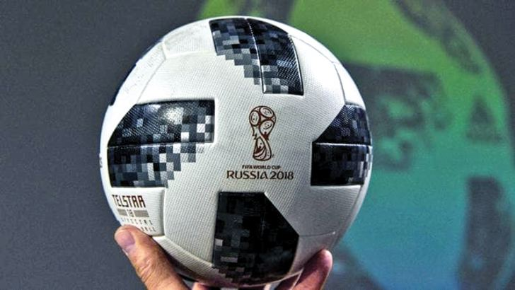 Telstar 18 is the official ball for 2018 FIFA World Cup