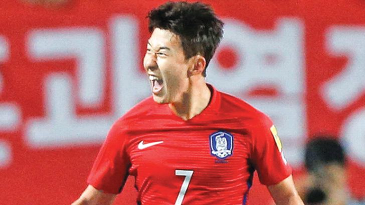 South Korea's Son Heung-min