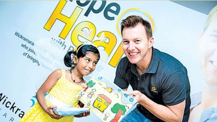 One of the Cochlear Implant recipient with Brett Lee - international star cricketer and global brand ambassador of Cochlear Pvt. Ltd