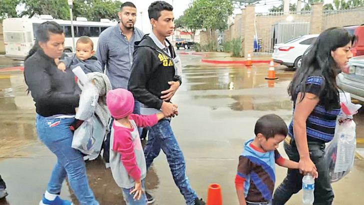 Some migrant children are being allowed to stay with family while their immigration status is considered.