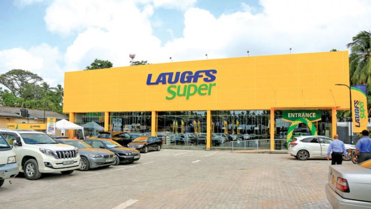 LAUGFS Super outlet in Kesbewa.