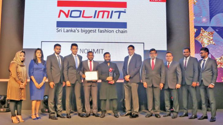 Award received by the NOLIMIT team