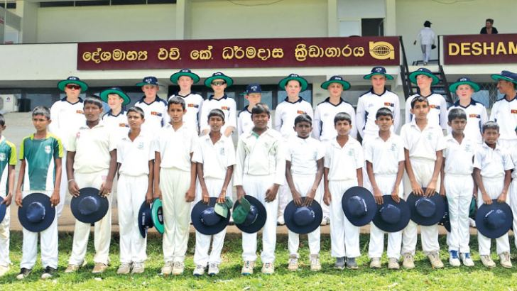 Auckland Cricket Selection under 14 and St Servatius under 13 teams