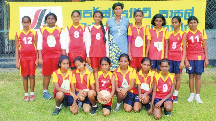 Siri Piyarathna Central College, Padukka Under 13 girls team: