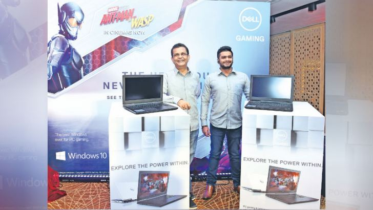 Officials at the Dell launch.
