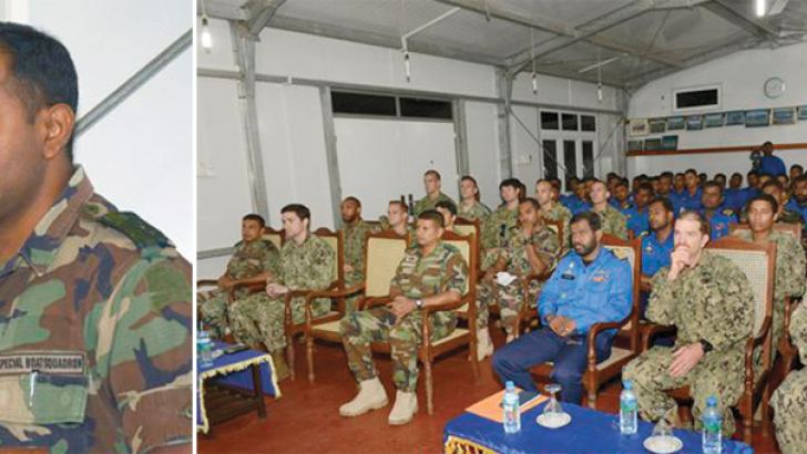 The Joint Combined Exchange Training being inaugurated