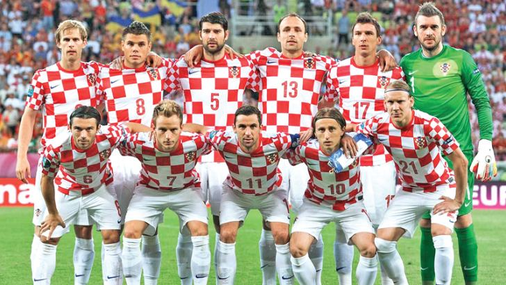 Croatian 2018 World Cup team