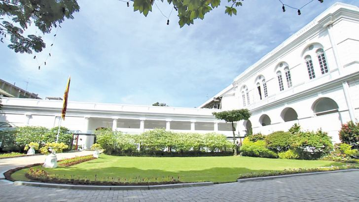 President's House in Colombo.