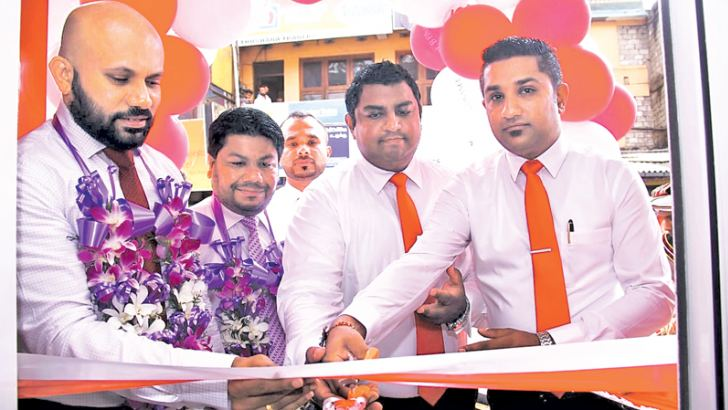 LB Finance opening the Welimada branch.