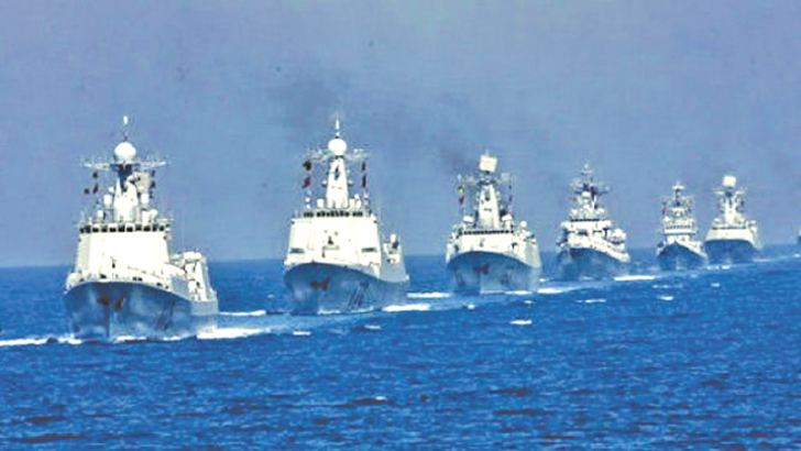 China's South China Sea fleet.
