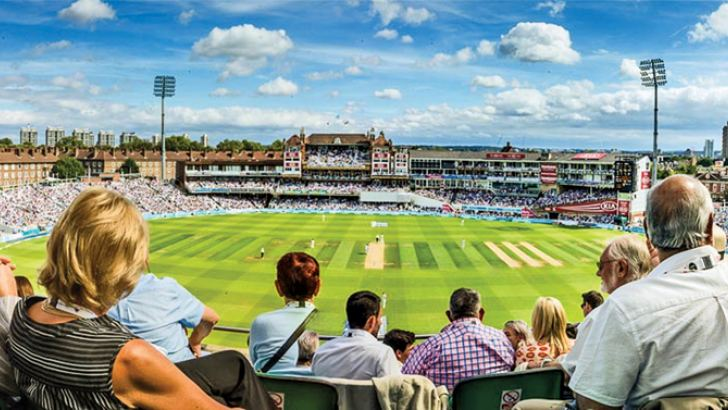 The spectators at Edgbaston soaking in the action between England and India in the first Test.