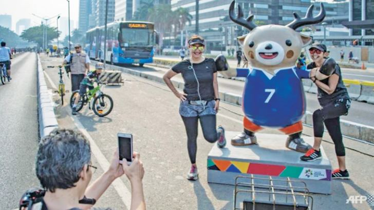 Atung is one of the official mascots for the Asian Games.