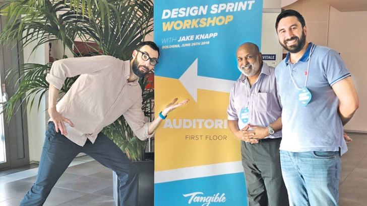 Jake Knapp, Design Partner at Google Ventures and author of the New York Times bestseller Sprint - Prof. Raomal Perera, Founder Lean Disruptor -  Rohan Perera, Co-founder Lean Disruptor.