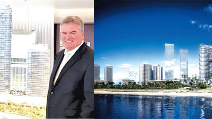 Arun Pathak, Managing Director, Welcom Hotels Lanka and Sotheby's International Realty Director Petar Petrovic.