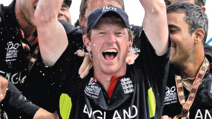 Paul Collingwood captained England to victory in the ICC World T20 in 2010.