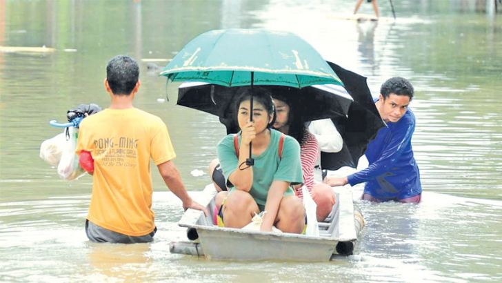 Millions at risk as cyclone hurtles towards Philippines.