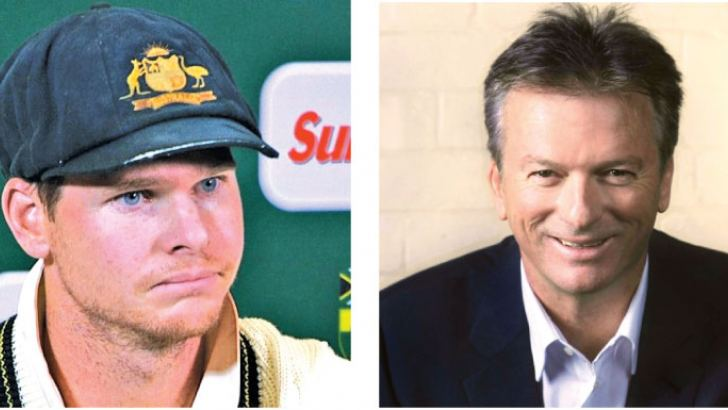 Steve Smith & Steve Waugh