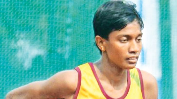 Junior steeplechase champion Parami Wasanthi established two new meet records on day two.