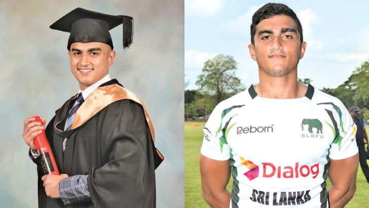 Rahul de Silva proud product of Wesley College