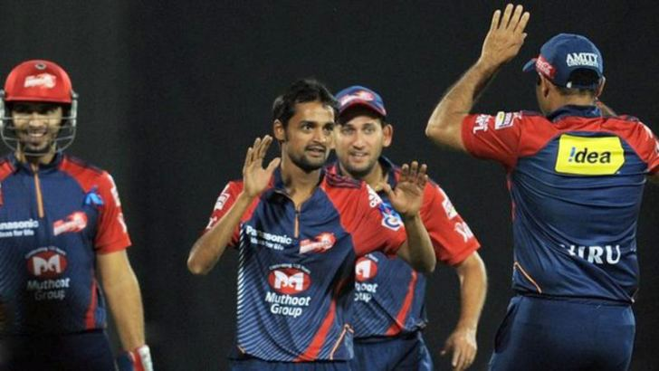Shahbaz Nadeem plays for Delhi Daredevils in the Indian Premier League