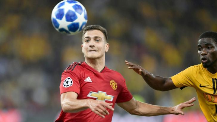 Portuguese defender Diogo Dalot impressed on his debut for the club. AFP