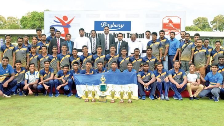 St. Peter's College, Colombo-Boys Overall Champions