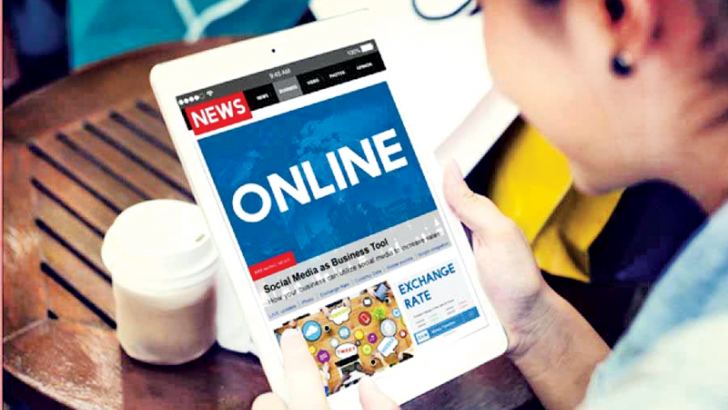 On the digital platform, news is now accessible anytime, anywhere.