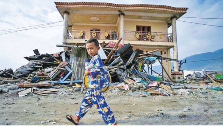 The quake-tsunami that struck Sulawesi has left a devastating toll on the region's children, aid workers say.