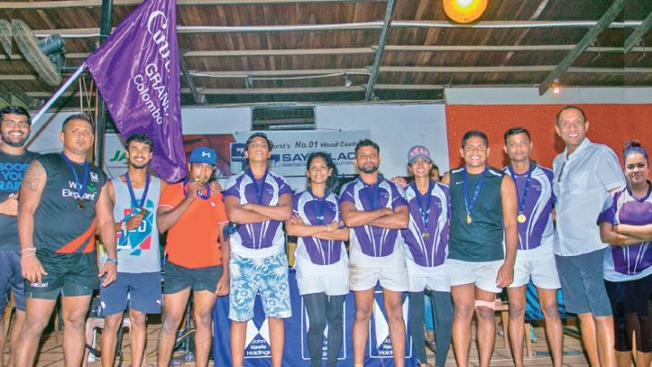 Cinnamon Grand's tag rugby team claimed the tag rugby title for the second consecutive year