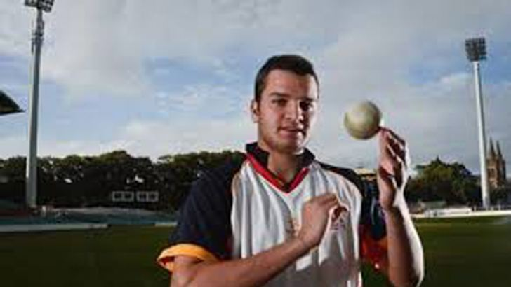 Usman Qadir, son of Pakistan spin-bowling great Abdul Qadir.