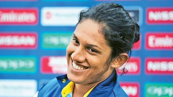 Sri Lanka women's cricket captain Chamari Atapattu.