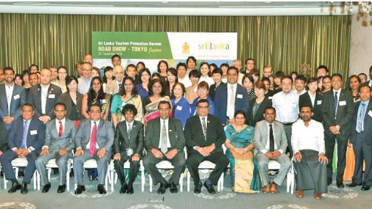 Trade industry participants at the road show