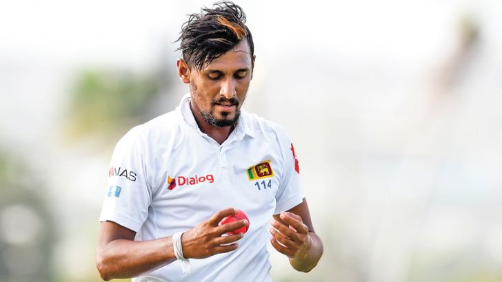 Suranga Lakmal takes over the Sri Lanka Test captaincy from injured Dinesh Chandimal.