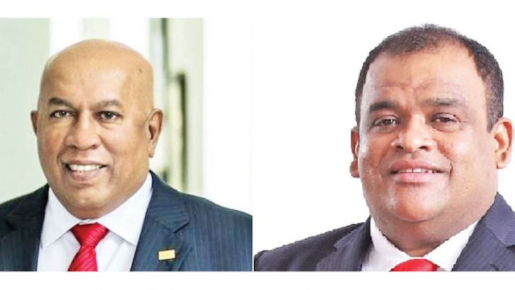 Mohan Pandithage  Chairman/CEO and Dhammika Perera Co-Chairman