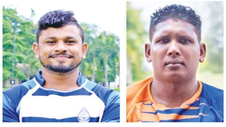 Thilina Weerasinghe (Captain - Navy SC)-Upul Abeyratne (Captain - Army SC)