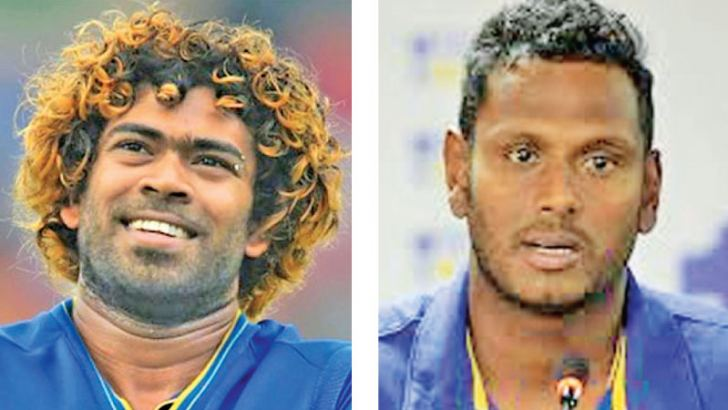 Lasith Malinga &    Angelo Mathews